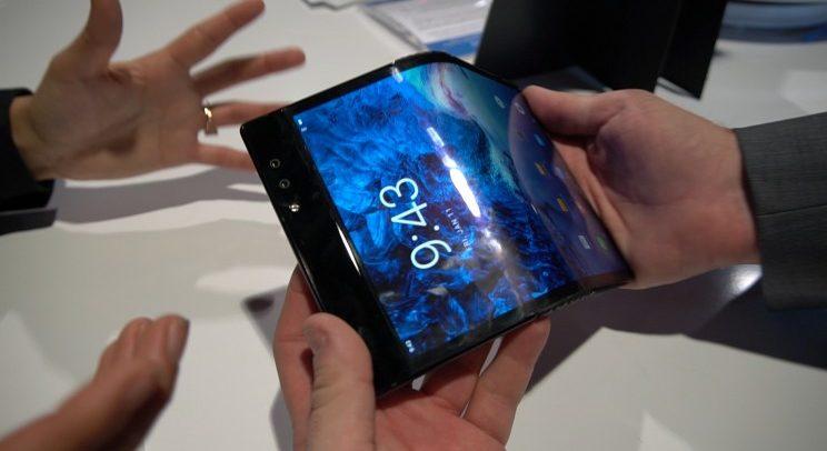 Flexible phone